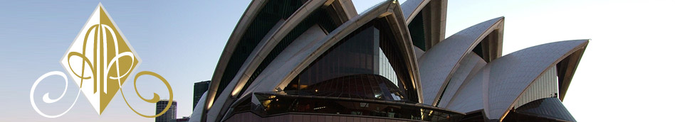 Sydney Opera House - Contact Us header